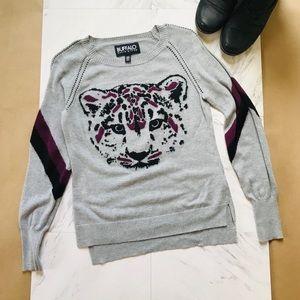 Buffalo David Bitton Small Sweater Cat Leopard